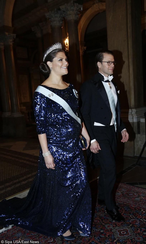 Księżna Wiktoria z mężem /East News