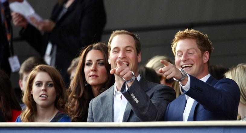 Księżniczka Beatrycze, księżna Kate, książę William i książę Harry /WPA Pool /Getty Images
