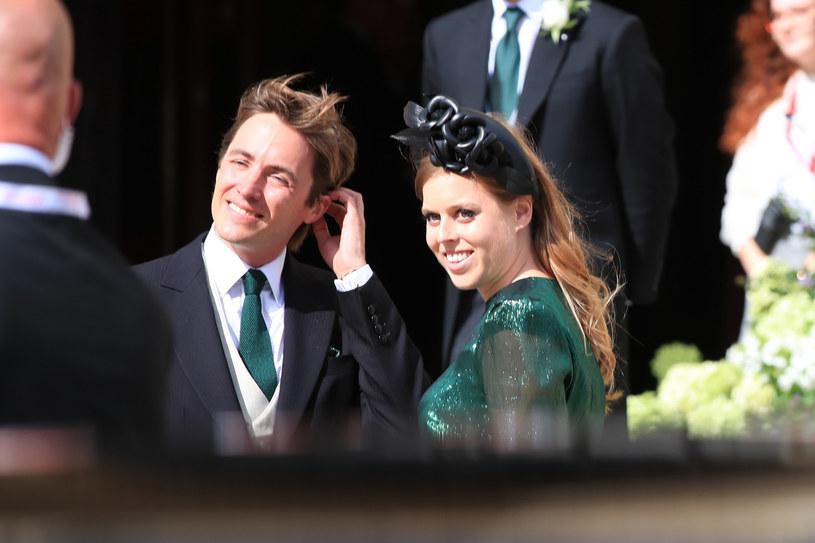 Księżniczka Beatrycze z Eduardo Mapellim Mozzim /Peter Byrne/Press Association /East News