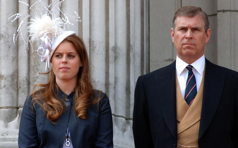 Księżniczka Beatrycze z ojcem, księciem Andrzejem /Anwar Hussein /Getty Images