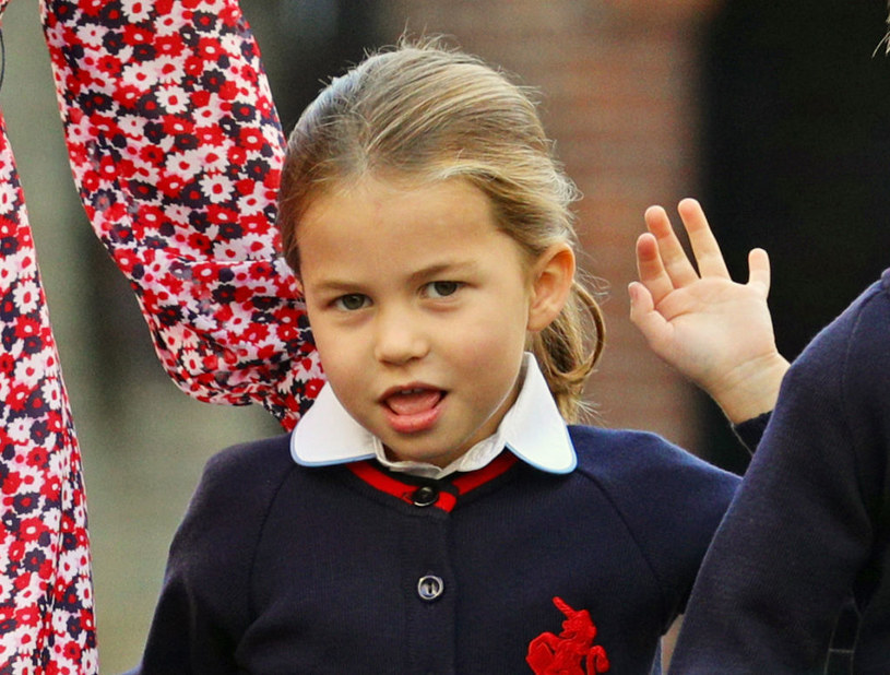 Księżniczka Charlotte to jedyna córka Williama i Kate /Aaron Chown  /Getty Images