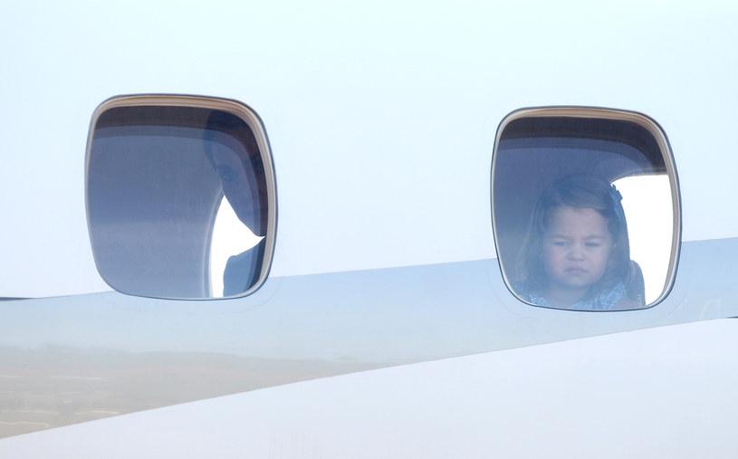 Księżniczka Charlotte w samolocie /DCM / Contributor /Getty Images