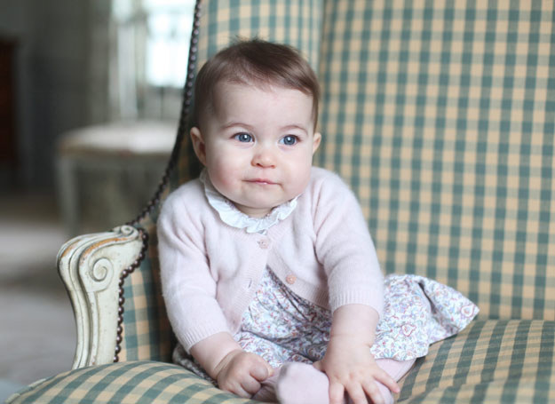 Księżniczka Charlotte /THE DUCHESS OF CAMBRIDGE HANDOUT /PAP