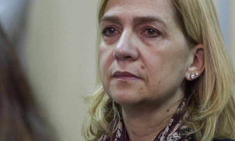 Księżniczka Cristina na sali sądowej /CATI CLADERA  /Agencja FORUM