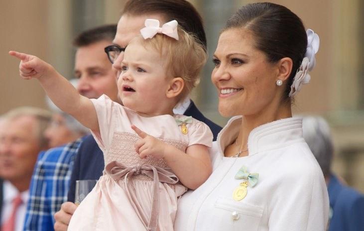 Księżniczka Estelle skończyła w niedzielę osiem lat /Ragnar Singsaas /Getty Images