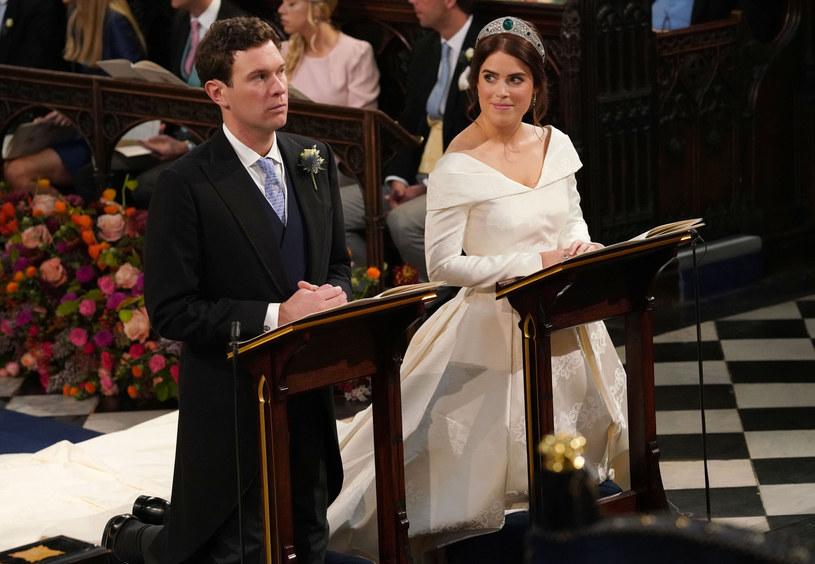 Księżniczka Eugenia i Jack Brooksbank pobrali się! /WPA Pool /Getty Images