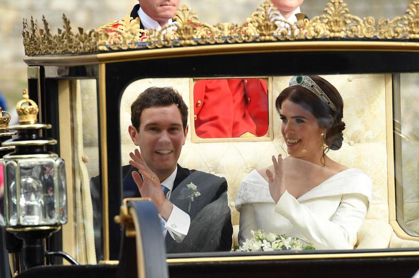 Księżniczka Eugenia i Jack Brooksbank są już po ślubie! /Getty Images