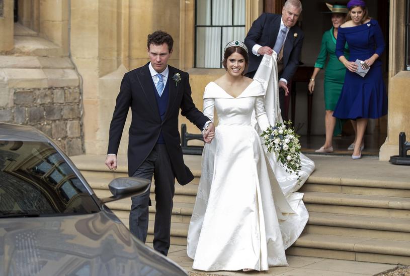 Księżniczka Eugenia i Jack Brooksbank /i-Images / Pool/i-images/ /East News