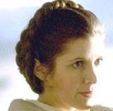 """Księżniczka Leia, bohaterka """"Gwiezdnych wojen"""" /"""