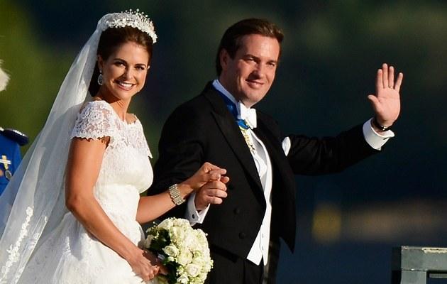 Ksieżniczka Madeleine i Christopher O'Neilly /- /Getty Images