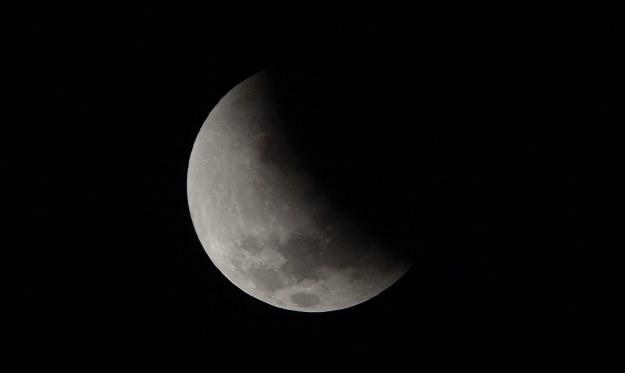 Księżyc kryje wiele tajemnic /AFP