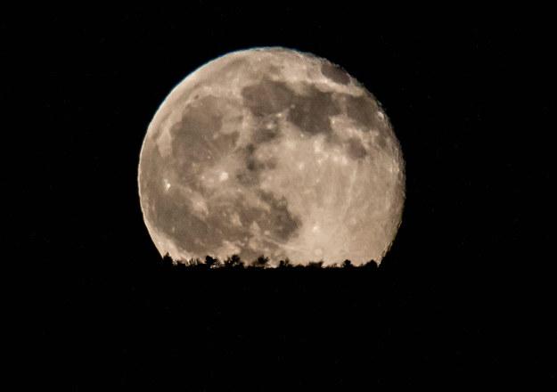 Księżyc /Lefteris Partsalis /PAP/EPA