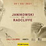 KSW 59. Damian Janikowski zmierzy się z mocno bijącym Jasonem Radcliffe'em