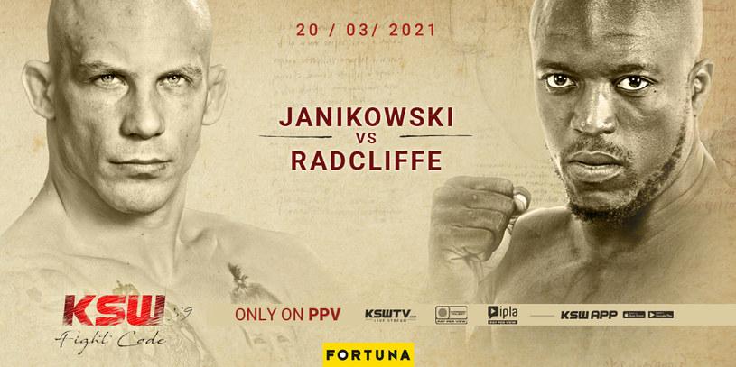 KSW 59: Janikowski - Radcliffe /materiał partnera