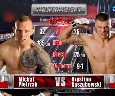 KSW 59. Krystian Kaszubowski - Michał Pietrzak. Skrót walki (POLSAT SPORT). Wideo