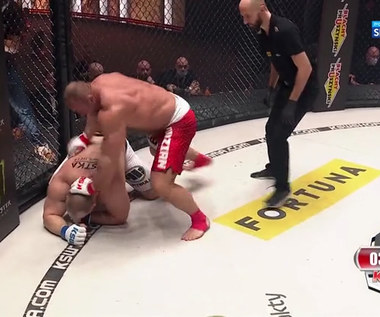 KSW 59. Mariusz Pudzianowski - Nikola Milanović. Skrót walki (POLSAT SPORT). Wideo