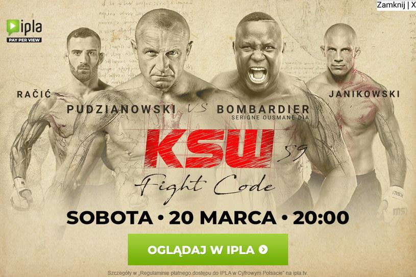 KSW 59 /Polsat/Ipla /materiał zewnętrzny