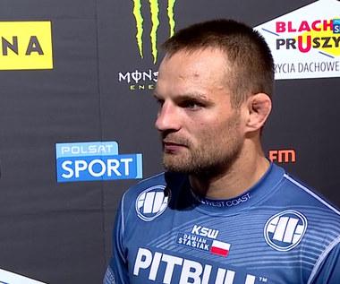 KSW 61. Damian Stasiak: Miałem go przewrócić i poddać (POLSAT SPORT). Wideo
