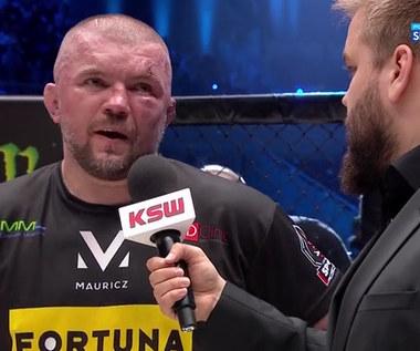 KSW 61. Łukasz Jurkowski: Nie żegnam się, bo już to kiedyś robiłem (POLSAT SPORT). Wideo