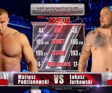 KSW 61. Mariusz Pudzianowski - Łukasz Jurkowski. Skrót walki (POLSAT SPORT). Wideo