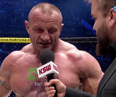 KSW 61. Mariusz Pudzianowski: Wiedziałem, że przyjmę kilka ciosów (POLSAT SPORT). Wideo