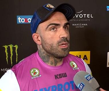KSW 62. Akop Szostak: Szymon powiedział, że jestem za niski. Musiałem jakoś zareagować (POLSAT SPORT). Wideo