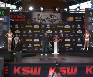 KSW 62: Ceremonia ważenia (POLSAT SPORT). Wideo