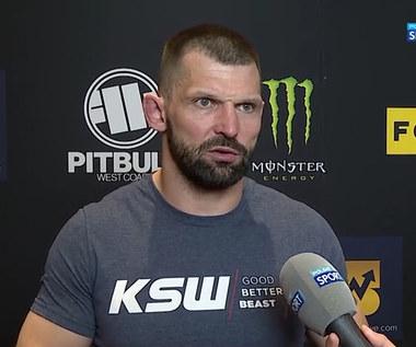 KSW 62. Szymon Kołecki: Nie czuję się czarnym charakterem w tej walce. To ja nie obrażałem mojego rywala (POLSAT SPORT) Wideo