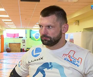 KSW 62. Szymon Kołecki: W tej walce nie będzie podawania sobie rąk (POLSAT SPORT) Wideo