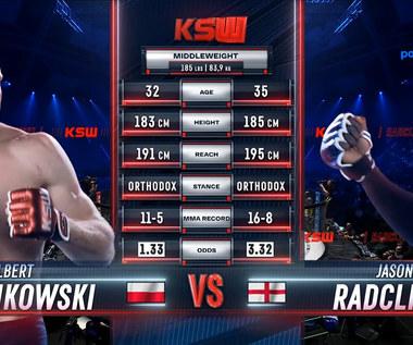 KSW 64. Albert Odzimkowski - Jason Radcliffe. Skrót walki. WIDEO (Polsat Sport)