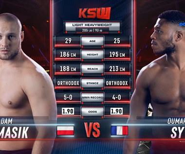 KSW 64. Oumar Sy - Adam Tomasik. Skrót walki (Polsat Sport)