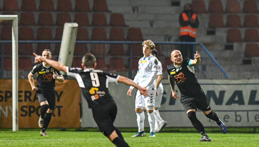 KSZO Ostrowiec Świętokrzyski - Górnik Zabrze 2-3 w 1/16 Pucharu Polski