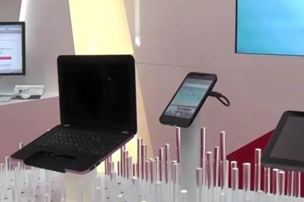 """KT Spider Concept, ciekawy pomysł na """"potrójne"""" urządzenie - fot. AndroidPit /Internet"""