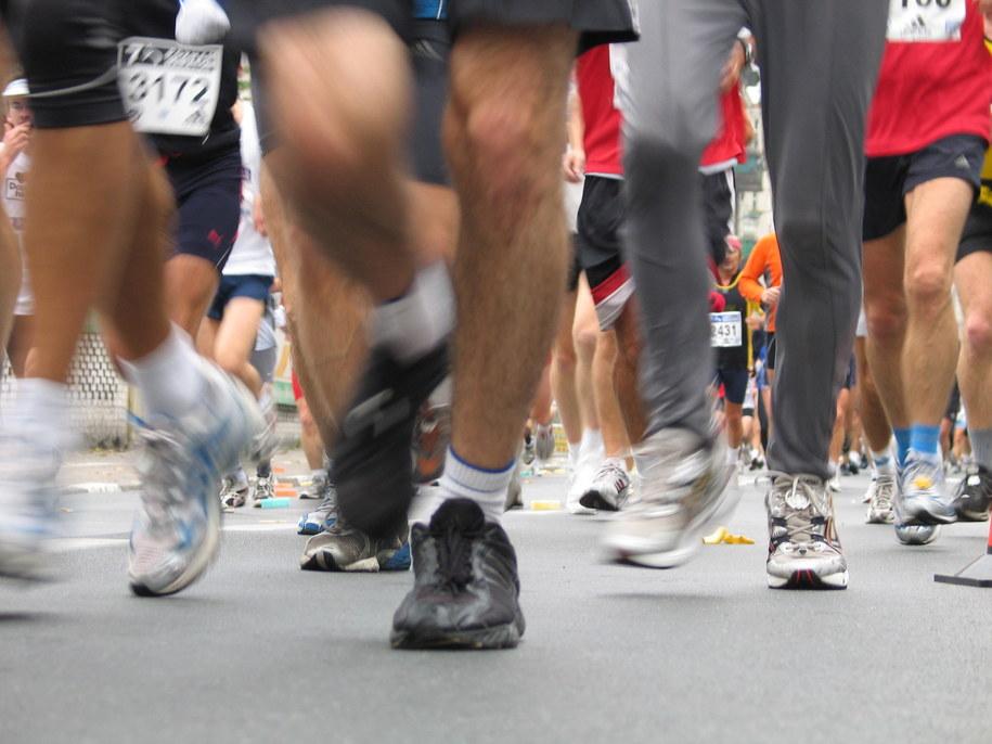 """Kto biega w Polsce? """"Klasa Średnia"""". Kobiety dla zdrowia, mężczyźni dla... rywalizacji /Adam Górczewski /RMF FM"""