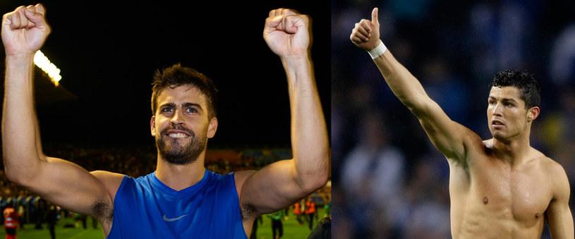 Kto dziś będzie się cieszył? Gerard czy Cristiano? /Getty Images