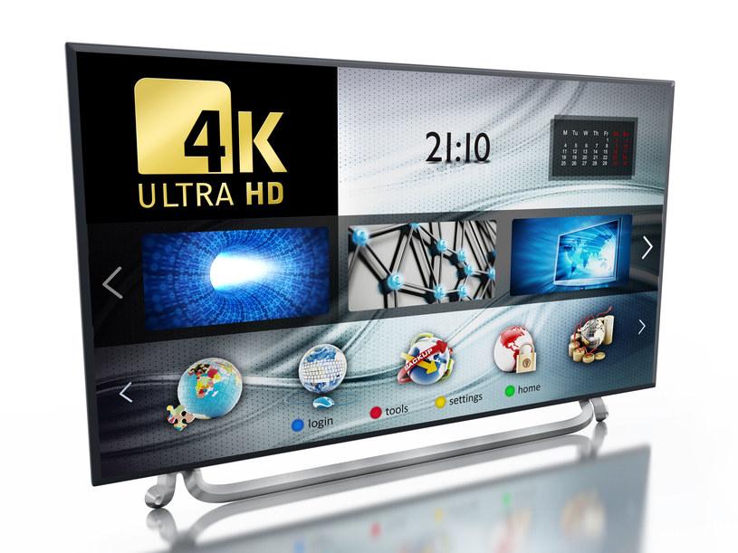 Kto kupuje nowe telewizory 4K? /123RF/PICSEL