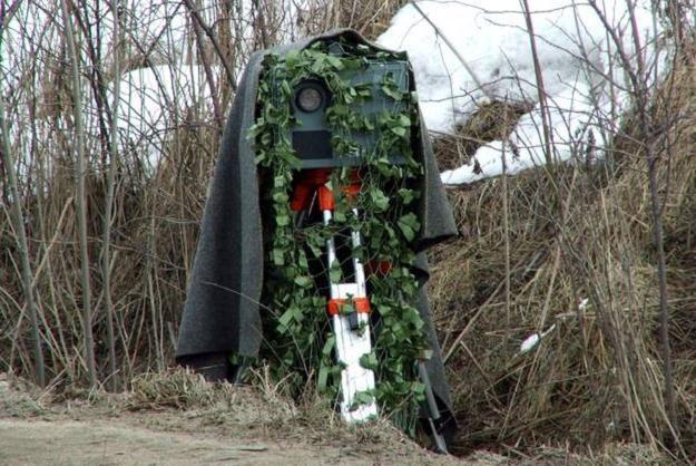 Kto może się maskować na drodze? / Fot: Gazeta Bytowska /