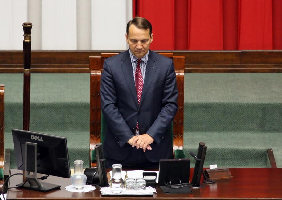 Kto zastąpi Radosława Sikorskiego? /Tomasz Gzell /PAP