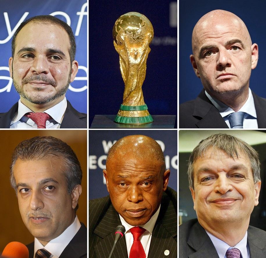 Kto zostanie szefem FIFA? /STF /PAP/EPA