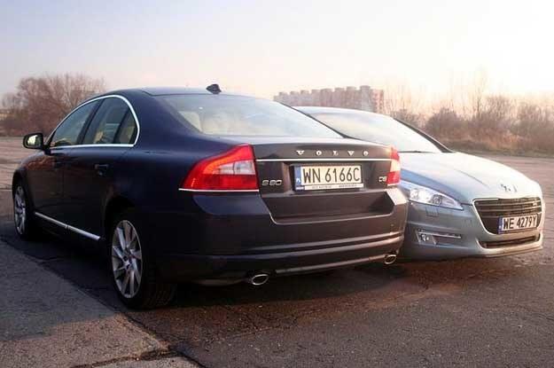 Które auto uważasz za lepsze?  S80 czy 508? /INTERIA.PL