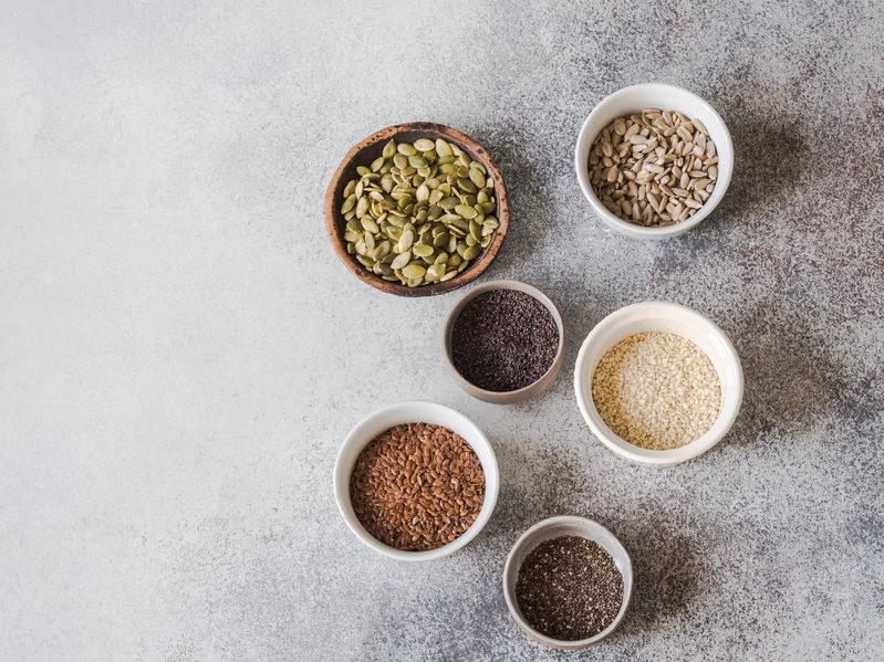 Które nasiona są najlepsze dla zdrowia? /©123RF/PICSEL