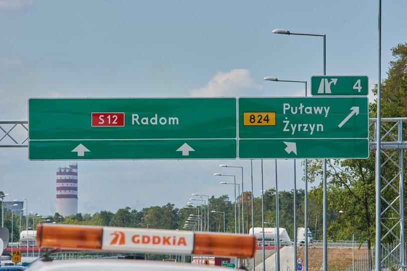 Którędy pobiegnie droga S12? /Krzysztof Radzki /East News