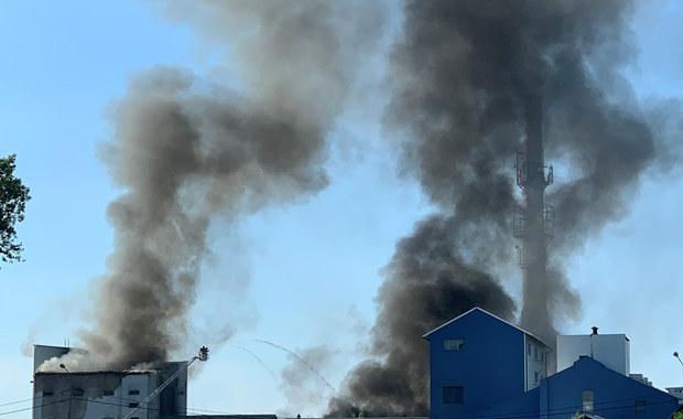 Ktoś celowo mógł podpalić magazyn z odpadami w Chybiu