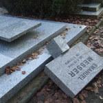 Ktoś uszkodził kilkanaście nagrobków na Cmentarzu Centralnym w Szczecinie