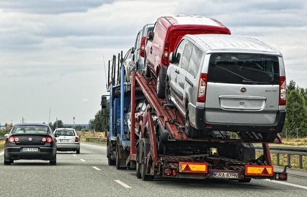 Ktoś wziął na cel nowe samochody / Fot: Andrzej Stawiński /Reporter
