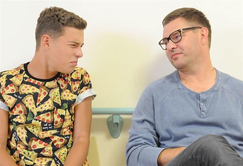 Kuba (Adam Zdrójkowski) i Ludwik (Tomasz Karolak) /Agencja W. Impact