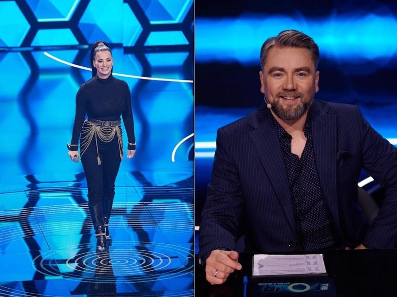 """Kuba Badach w programie """"The Four: Bitwa o sławę"""" /Polsat/Krystian Szczęsny /Polsat"""
