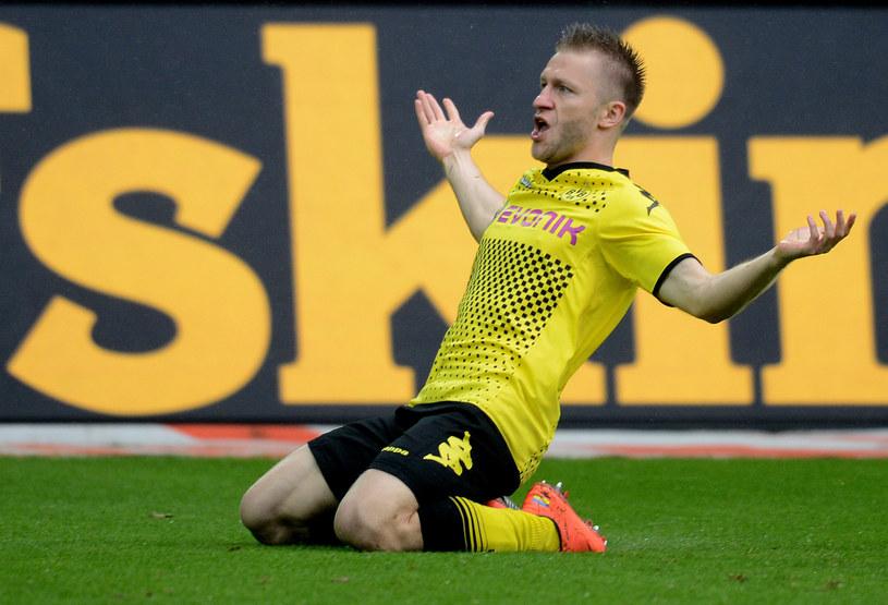Kuba Błaszczykowski zostanie w Borussi Dortmund na dłużej /AFP