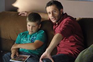 Kuba był dobrym ojcem dla Krzysia, syna swojej byłej żony. /fot  /Agencja W. Impact