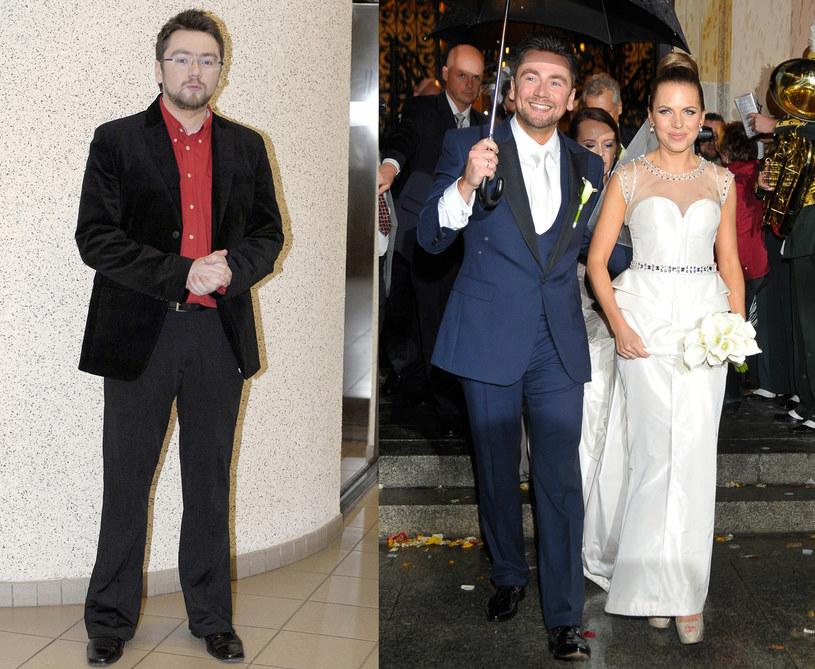 Kuba na ślubie wyglądał świetnie /Jacek Kurnikowski /AKPA